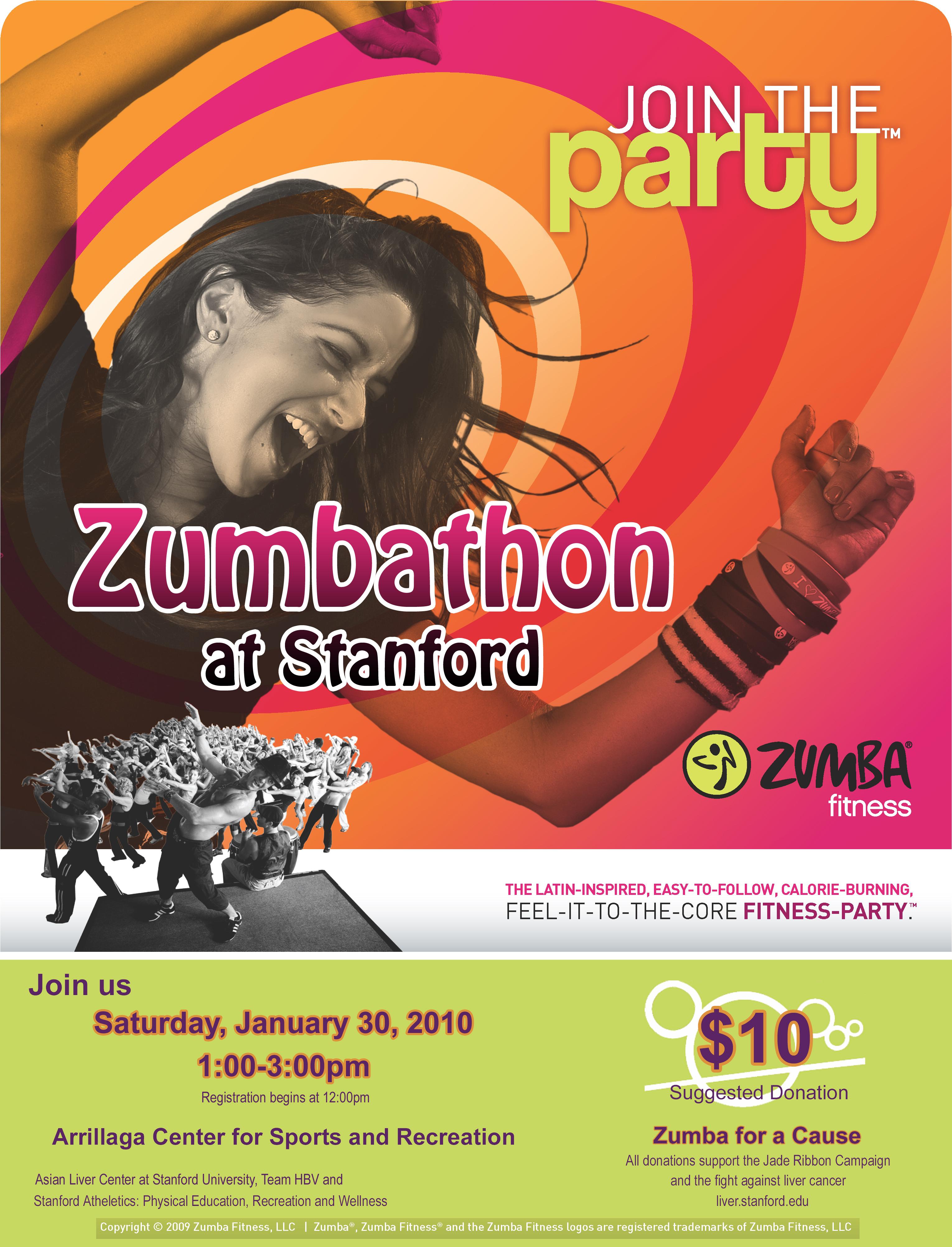 zumba flyer template