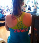 Zumbawear: How to make a halter top out of a racerback tank (via ZLife)