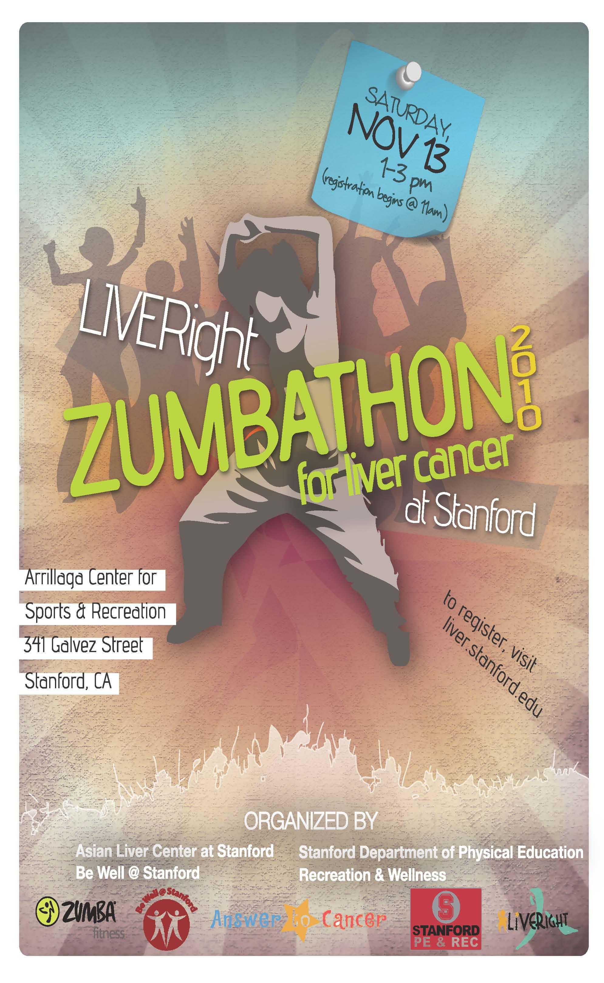 Zumbathon Poster September | 2010 | Zum...