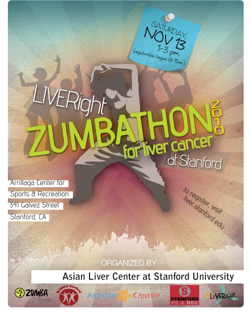 LIVERight Zumbathon at Stanford 2010