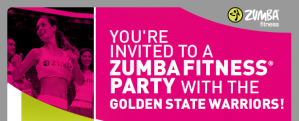 Party with the Warriors! (via Zumba Fitness with Alena)