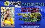Zumba Fitness Master Class in Hayward, CA!
