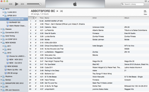 Abbottsford Master Class Playlist :)