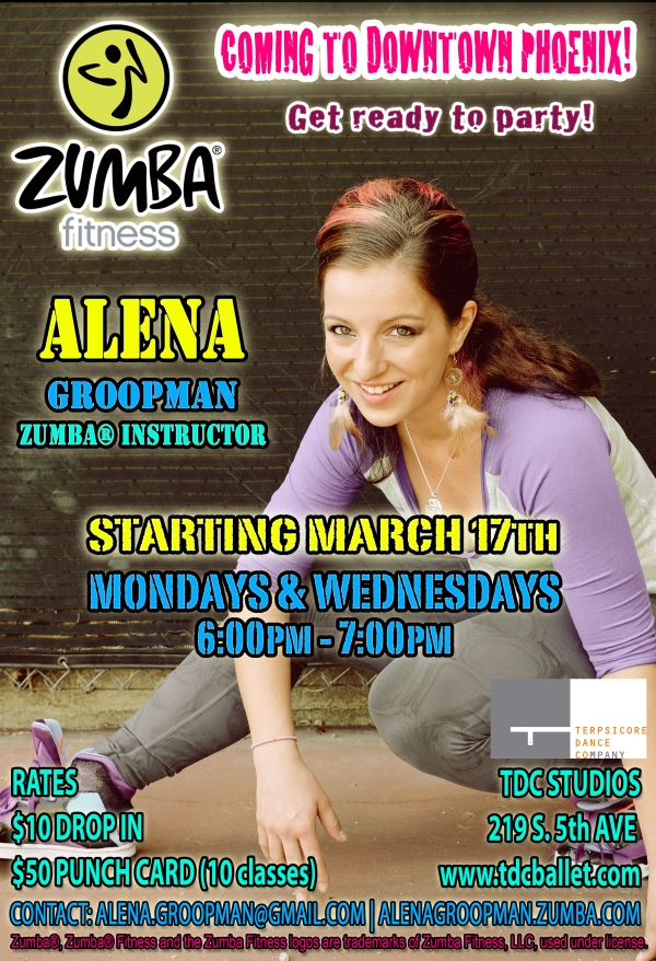 Zumba Fitness in Arizona!