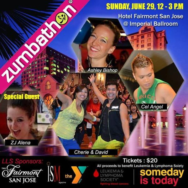 Zumbathon in San Jose